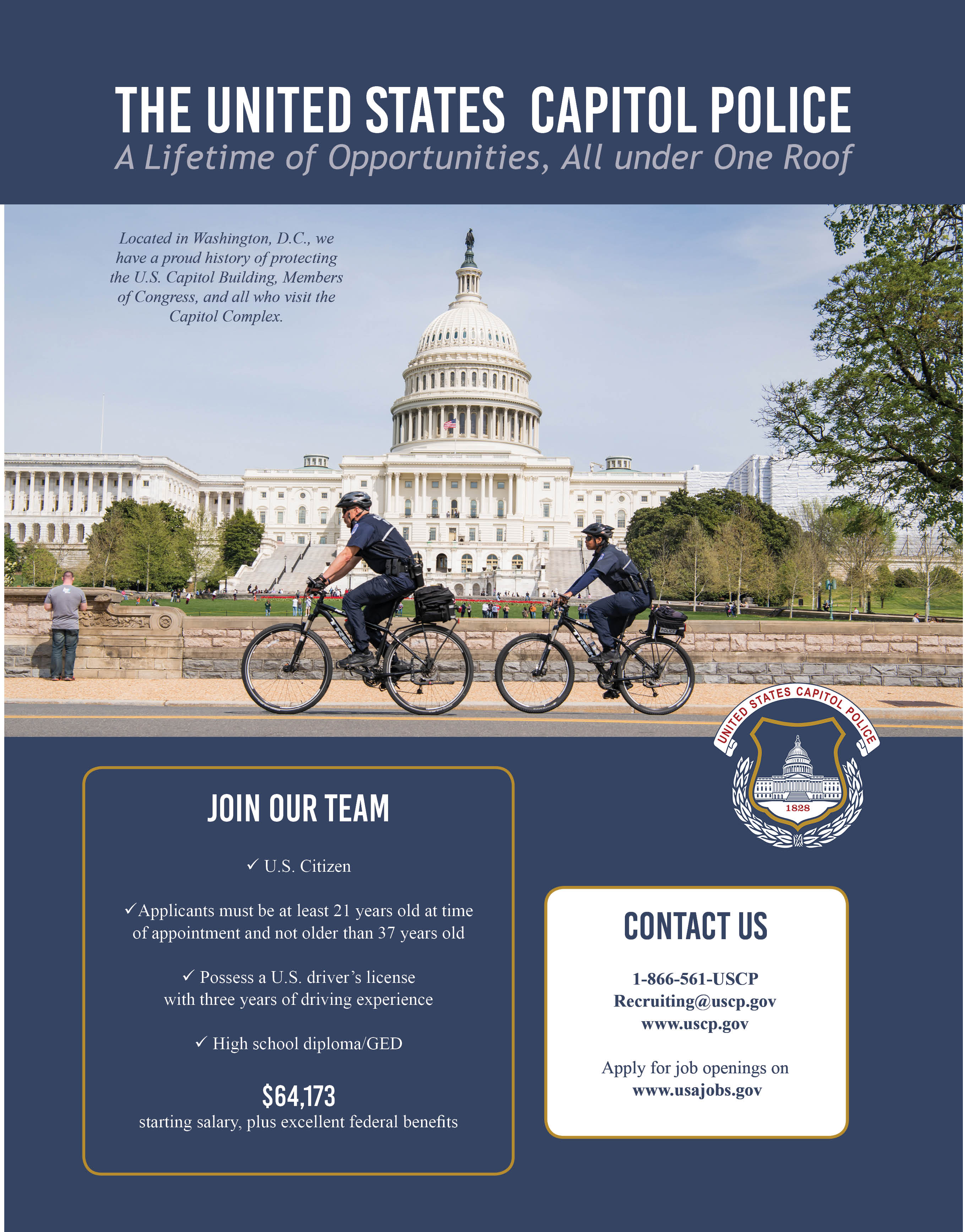 USCP Recruiting Flyer - October 2020